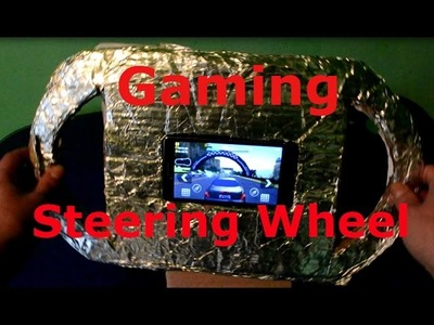 How to Make a Gaming Steering Wheel for Any Smartphone or Tablet
