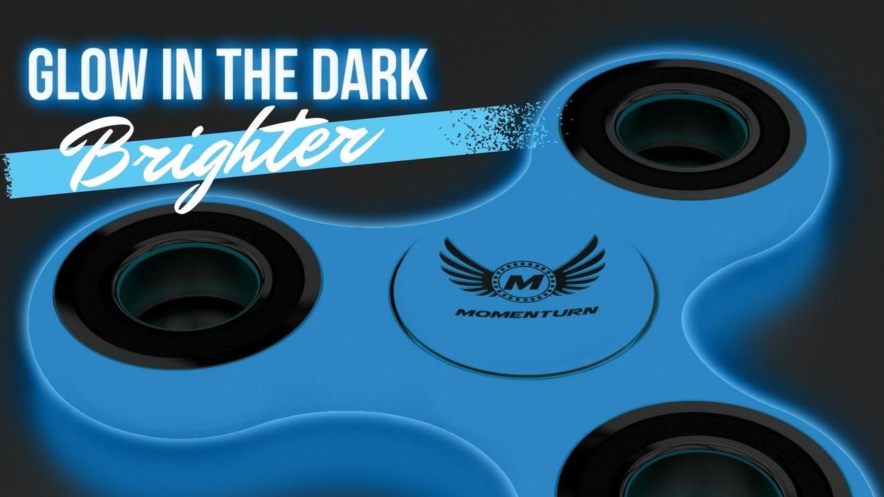 How To Make A  Glow In Dark Fidget Spinner Glow Brightly