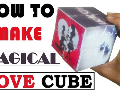 How To Make A Magic Photo Cube Album For Proposes Your Love