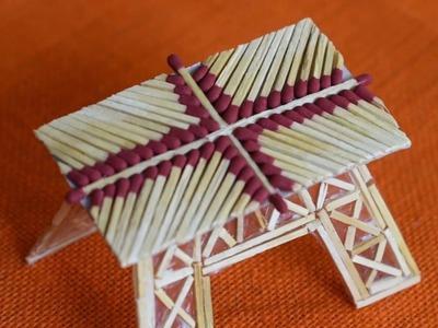 How To Make A Match Sticks Table || Like A Boss || Matchstick Craft