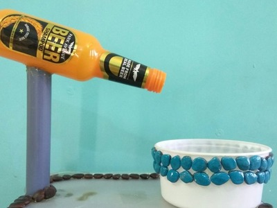 How to make a mini fountain for decoration