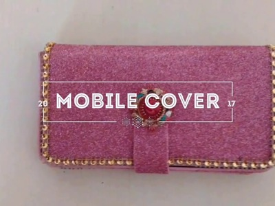 How to make a mobile cover ?