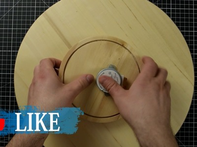 How to make a Motorized Lazy Susan. Turntable for Photo Studio