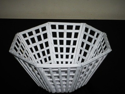 How to Make a Newspaper Basket.