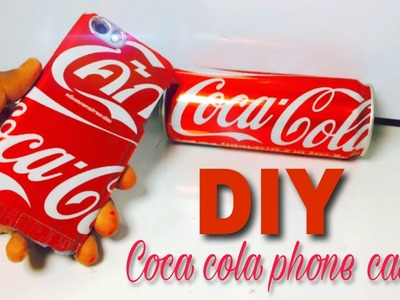 How to Make a Phone Case Out Of Coca Cola Can. Very Easy