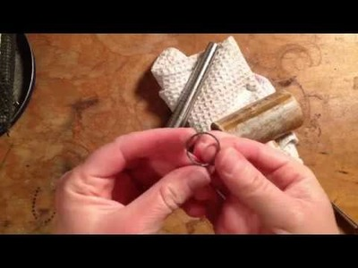 How to Make a Silver Arrow Ring
