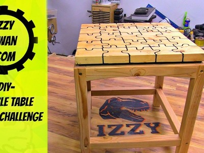 How to Make a Simple Puzzle End Table