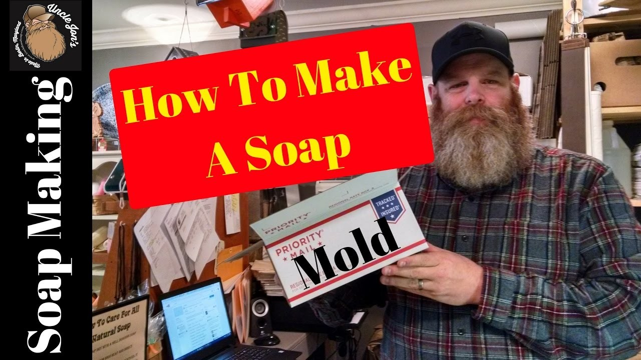 How to make a soap mold- soap making
