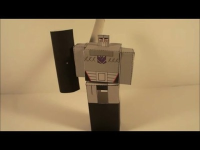 How To Make A Transforming Papercraft Megatron