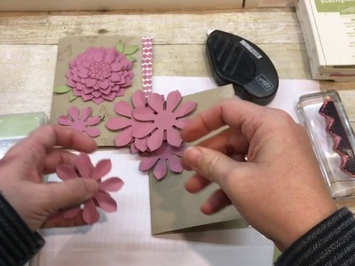 How to make a vintage Oh So Succulent Card.Grateful Bunch Card