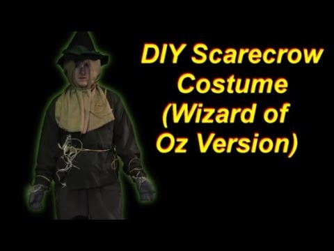 How to Make a Wizard of Oz Scarecrow Costume