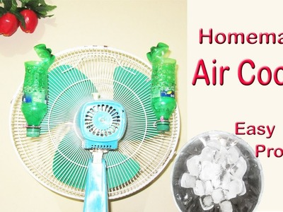 How to make air conditioner at home using plastic Bottle and Fan - Easy tips
