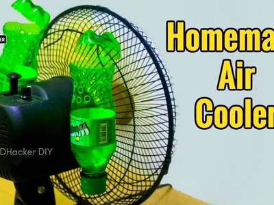 How to make Air Conditioner using Plastic Bottle  Easily at home, Air Cooler | Eco Cooler Bangladesh