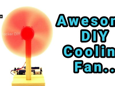 How to make Air Cooling Fan using Plastic Bottle at home Easily | DIY Plastic Bottle Air Cooler
