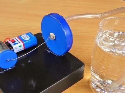 How to Make an Air Pump | Aquarium Air Pump