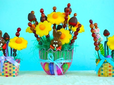 How To Make An Easter Basket Fruit Bouquet!