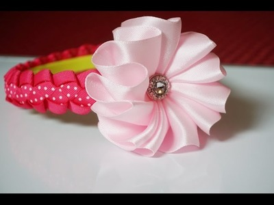 How to make an easy flower for headbands