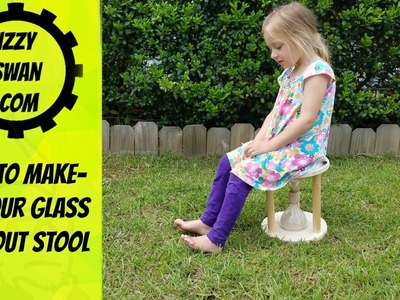 How to make an hour glass time out stool | Izzy Swan