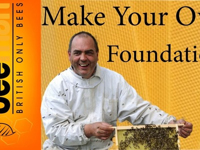 How To Make Beeswax Foundation The Beeman