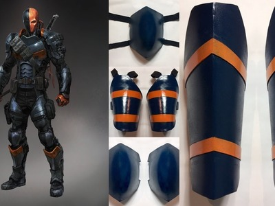How to make Deathstroke Leg Amour