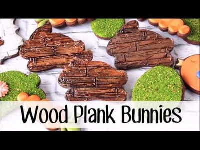 How to Make Decorated Cookies that Look Like Wood Planks