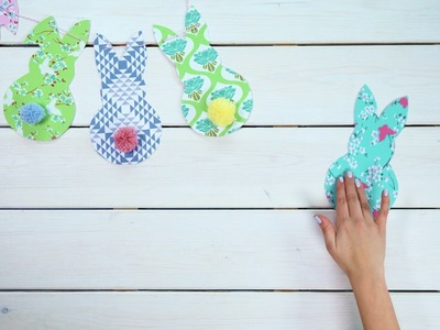 How to make Easter Bunny Bunting | John Lewis