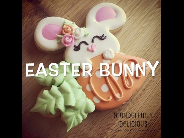 How to Make Easter Bunny Decorated Cookies