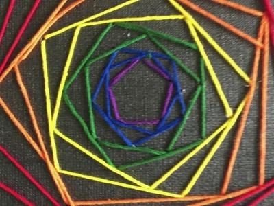 How to Make Geometric String Art