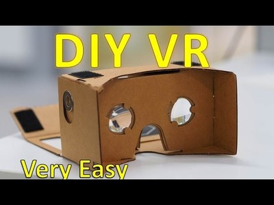 How To Make Google Cardboard VR Box at Home. Easy Do it Yourself