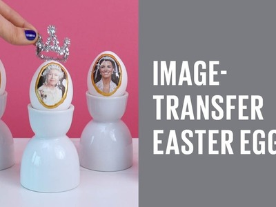 How to make image-transfer Easter eggs