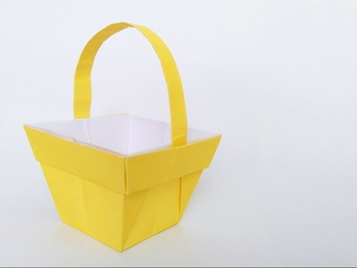 How to make: Origami Basket