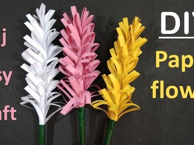 How To Make Paper Flowers || Handmade craft || Paper Craft