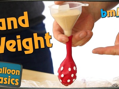How to make Sand Weights - Balloon Basics 14