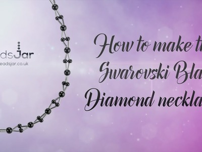 How to make this bugle and pearl diamond necklace | Pearl (109)