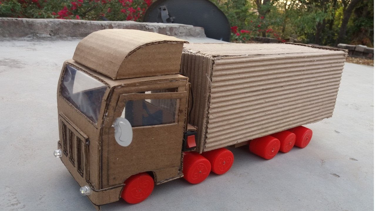 How to make Truck Container DIY at Home. The Toy Truck Container-Awesome Toy DIY