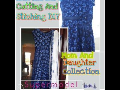 How to make umbrella kurti-cutting &stiching