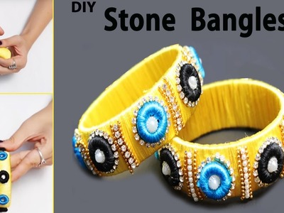 How to make Yellow Color Donut Bangles