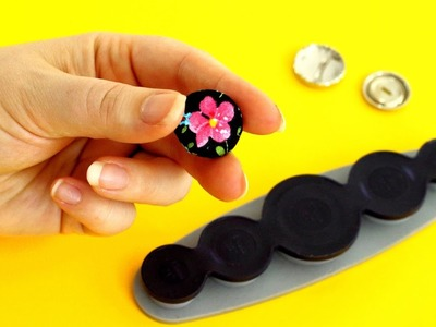 How to make your own fabric buttons - sewing tutorial by Sewing Bee Fabrics