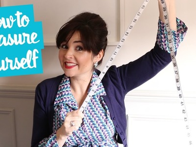 How to Measure Your Bust, Waist and Hips for Dressmaking