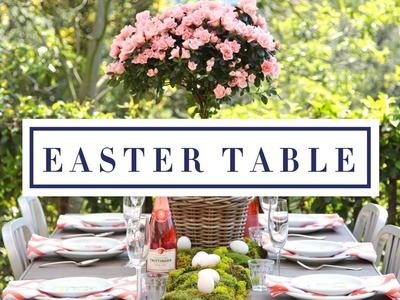 How To Set Your Table For Easter