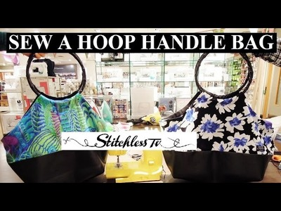 How to sew a hoop handle bag Sewing Tutorial