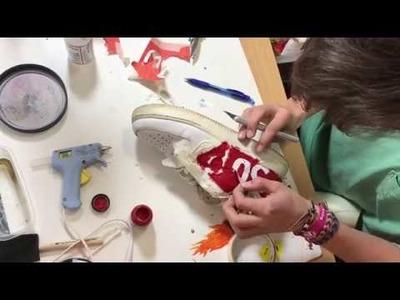 How To: Supreme Custom Using Angelus Direct