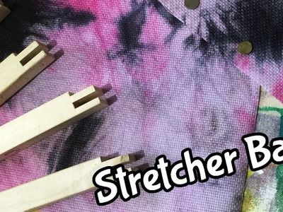 How to Use Stretcher Bars | Embroidery Tutorial