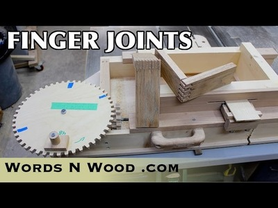 How To Use the Woodgears Box Joint Jig (WnW #95)