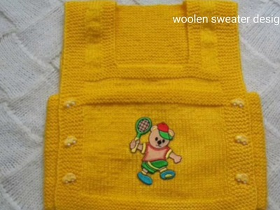 New Sweater Design in Hindi for kids - sweater design Knitting