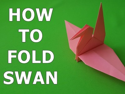 Origami Swan (How to make)