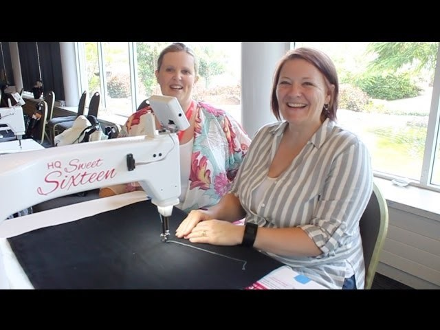 SASQA Video 11 How to quilt the Scrappy Squares row with Heather Hopkins