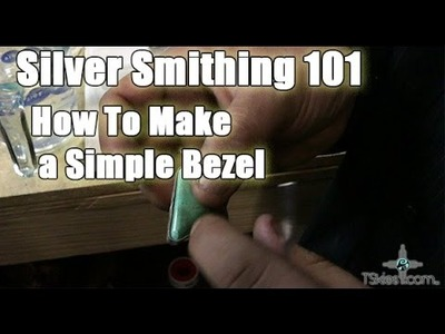 Silver Smithing 101 How To Make A Simple Bezel
