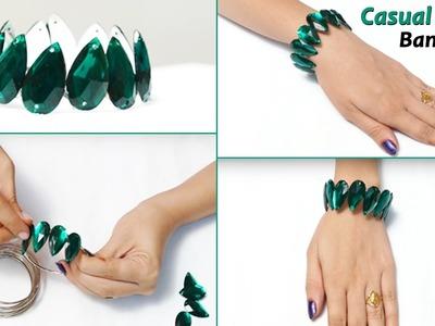 3 DIY Bracelet for Girls | Easy Bracelets for Kids. Beginners | Party Wear Bracelets
