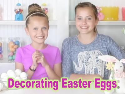 5 DIY Easter Egg Decorations |How to Easter Egg Ideas | Marissa and Brookie